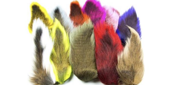 Bucktail naturale e tinto (foto dal web)