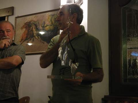 Claudio D'Angelo Award 2012