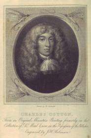 Ritratto di Charles Cotton, immagine fornita dalla collezione di Giorgio Cavatorti