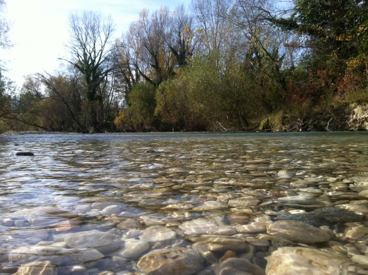 Il fiume d'inverno