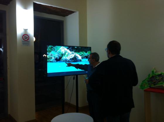Illustrazione del video della Scuola Italiana di Pesca a Mosca