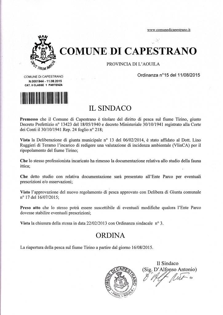 Tirino Capestrano